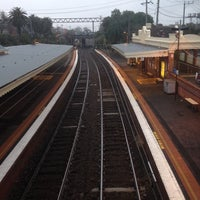 Photo taken at Armadale Station by Howard M. on 8/7/2014