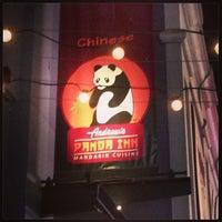 Photo taken at Andrew's Panda Inn by Tim G. on 1/20/2013