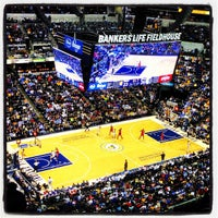 Photo taken at Bankers Life Fieldhouse by B. Tyler M. on 3/1/2013
