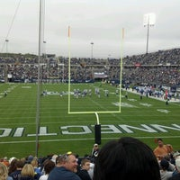 Photo taken at Rentschler Field by Jonathan D. on 9/29/2012