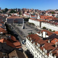 Photo taken at Rossio Square by Maarten d. on 6/14/2013