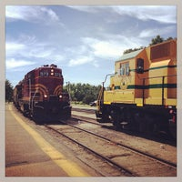 Photo taken at Conway Scenic Railroad by Ryan C. on 8/6/2013