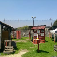 Photo taken at Rhinos Paintball by Andres V. on 3/29/2014