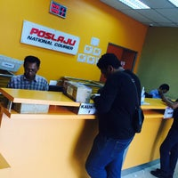 Photo taken at POSLAJU National Courier by Syed I. on 3/12/2015