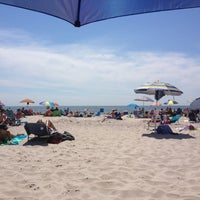 Photo taken at Robert Moses State Park Beach by Nicole N. on 8/17/2013