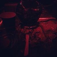 Photo taken at Casablanca Hookah Lounge by Mari Sonam P. on 3/22/2014