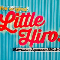 Photo taken at Little Hiro! Hawaiian-Japanese BBQ & Grill by gerard t. on 4/2/2014