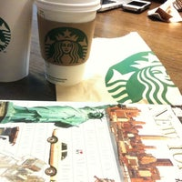 Photo taken at Starbucks by Barbora S. on 10/27/2012