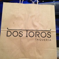Photo taken at Dos Toros Taqueria by Victor H. on 6/6/2013
