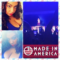 Photo taken at Budweiser Made In America Music Festival by Juliana C. on 9/6/2015