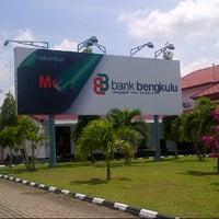 Photo taken at Bandara Fatmawati Soekarno (BKS) by Syamsir A. on 10/22/2012