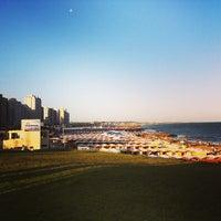 Photo taken at Costanera Miramar by Paula A. on 1/22/2013