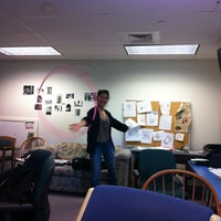 Photo taken at The College Voice HQ by Meredith B. on 9/30/2012
