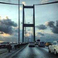 Photo taken at Bosphorus Bridge by Levent Z. on 7/21/2013