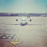 Photo taken at Marseille-Provence Airport (MRS) by Jonathan M. on 8/21/2013