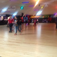 Photo taken at Starlite Skating Center by Adriana R. on 3/30/2014
