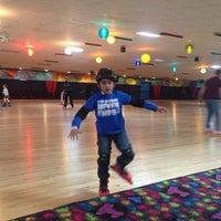 Photo taken at Starlite Skating Center by Adriana R. on 12/1/2013