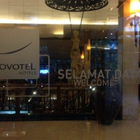 Photo taken at Novotel Surabaya Hotel and Suites by Andrie W. on 12/14/2013
