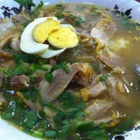 Photo taken at Soto Ayam Cak To by Andrie W. on 12/7/2012