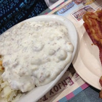 Photo taken at Yoder's Restaurant by Amber D. on 10/18/2012
