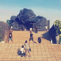 Photo taken at Garuda Wisnu Kencana (GWK) Cultural Park by Yudhas Y. on 11/13/2012