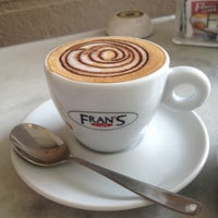 Photo taken at Fran's Café by Alvaro L. on 11/30/2012