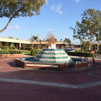 Photo taken at Fluor Fountain by Philip T. on 11/17/2013