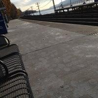 Photo taken at Metro North - Ardsley-on-Hudson Train Station by kitrina o. on 11/12/2012