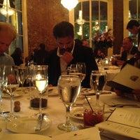 Photo taken at Restaurant August by Clandestine N. on 4/25/2013