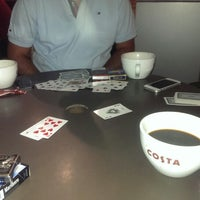 Photo taken at Costa Coffee by Ahmet K. on 11/7/2013