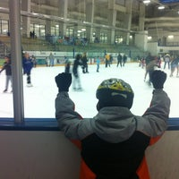 Photo taken at Ice Centre at the Promenade by Eric on 1/26/2013
