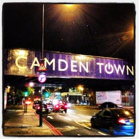 Photo taken at Camden Town by Igor S. on 6/1/2013
