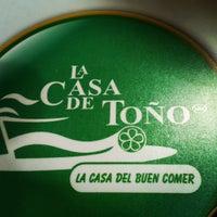 Photo taken at La Casa de Toño by David O. on 3/10/2013