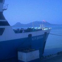 Photo taken at Pelabuhan Bakauheni by Sudarwanto S. on 5/4/2013