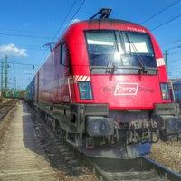 Photo taken at Ferencváros vasútállomás by Attila Á. on 6/25/2016