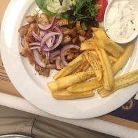 Photo taken at Dionisos Quick Greek by Ali A. on 8/19/2016