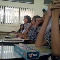 Photo taken at SMPN 45 Bandung by Anggita S. on 3/14/2013