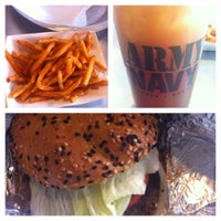 Photo taken at Army Navy Burger + Burrito by Aaron F. on 11/11/2012
