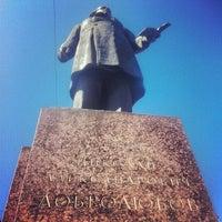 Photo taken at Памятник Добролюбову by Aliona O. on 4/28/2013