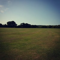 Photo taken at Edgwarebury Park by Reuben H. on 7/18/2014
