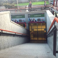 Photo taken at Metro Garibaldi FS (M2, M5) by Beatrice S. on 10/2/2012