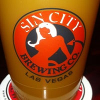 Photo taken at Sin City Brewing Company by Steve G. on 4/10/2013