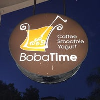 Photo taken at Boba Time by Chuong P. on 7/23/2015