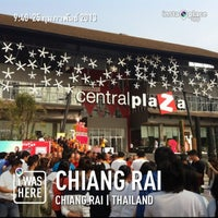 Photo taken at CentralPlaza Chiangrai by Nattakanchaya M. on 2/25/2013