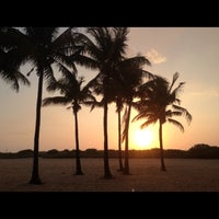 Photo taken at South Beach by Stefanie E. on 4/17/2013