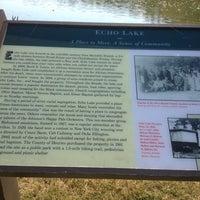 Photo taken at Echo Lake Park by Amy P. on 10/24/2012