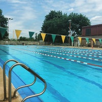 Photo taken at East Potomac Park Pool by Jason T. on 6/7/2015