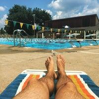 Photo taken at East Potomac Park Pool by Jason T. on 7/19/2015