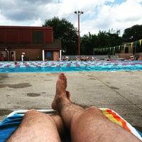 Photo taken at East Potomac Park Pool by Jason T. on 6/14/2015