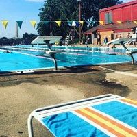 Photo taken at East Potomac Park Pool by Jason T. on 9/4/2016